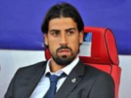 Sami Khedira could be heading for Bayern Munich, as he misses Real Madrid's Spanish Super Cup clash to watch his brother play in Germany